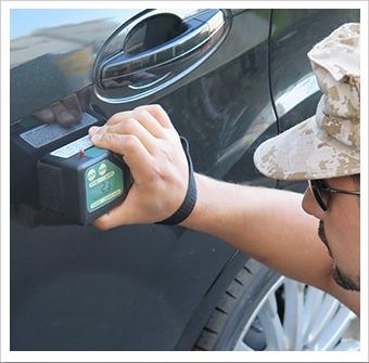 Buster K910B Density Meter Is Vital Contraband Detection Equipment