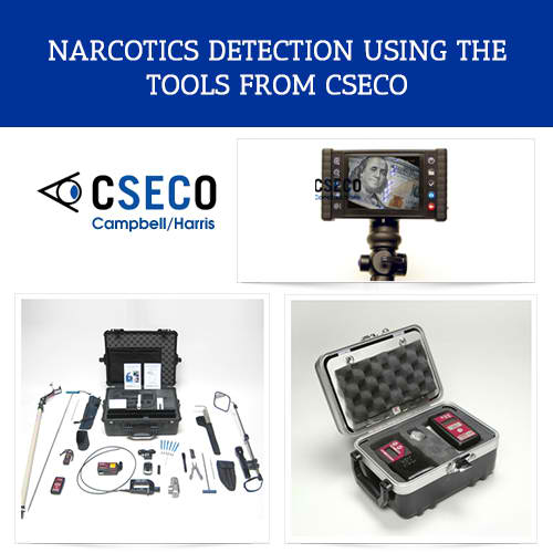 Narcotics Detection Using Tools from CSECO